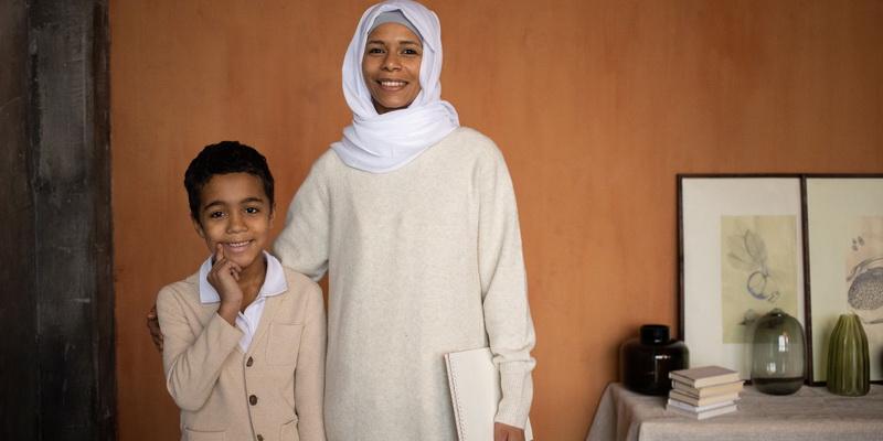 Islamo moteris ir vaikas